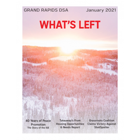 Cover of What's Left Issue #2 - January 2021