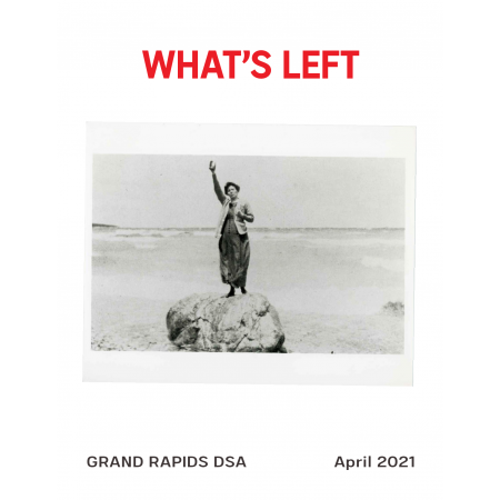 Cover of What's Left Issue #3 - April 2021